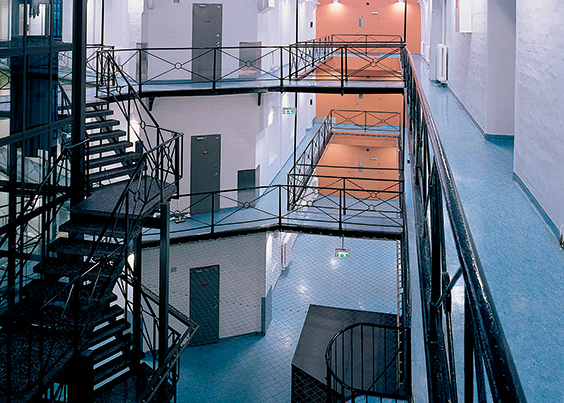 Oslo fengsel, foto: Statsbygg/Jaro Hollan
